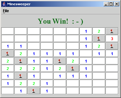 Nifty Assignments 2004 - Minesweeper